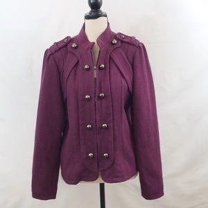 Steve Madden military style jacket